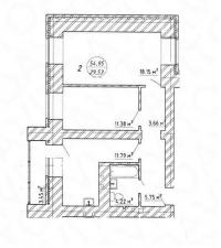 2-х комн. квартира ул.5-я просека, 123