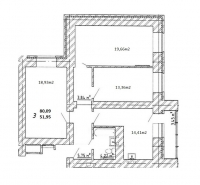 3-х комн. квартира ул.5-я просека, 123