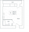 1 комн. квартира ул.5-я просека, 123